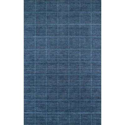 Red Rock Collection GM-01 Denim 8 ft. x 10 ft. Area Rug