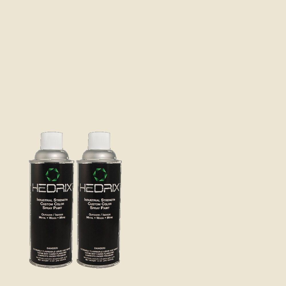 Hedrix 11 oz. Match of PPOC-1 My Charm Flat Custom Spray Paint (2-Pack)