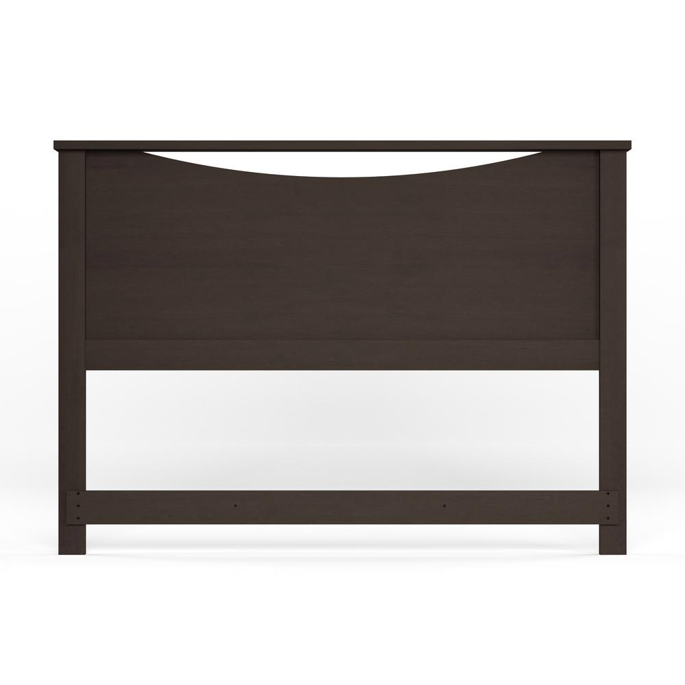 South S Step One Full Queen Size Headboard In Chocolate