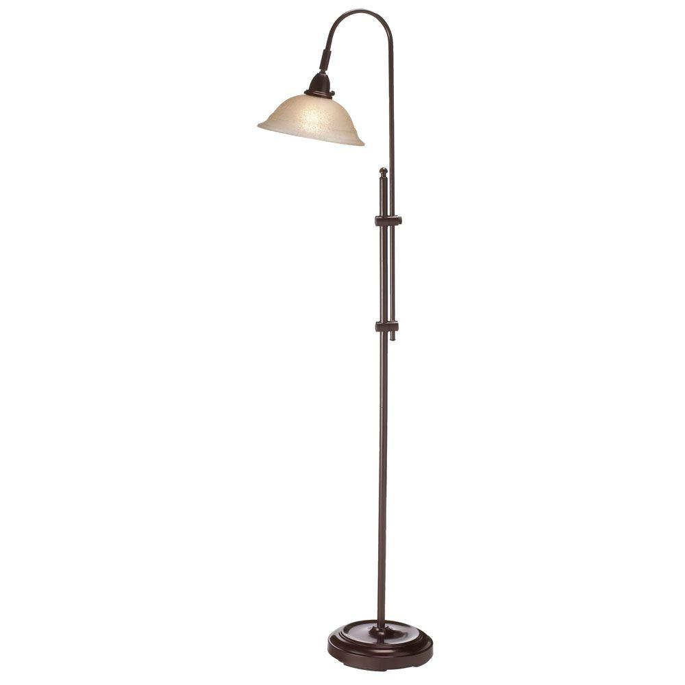 Filament Design Catherine 58 in. Espresso Floor Lamp-CLI ...