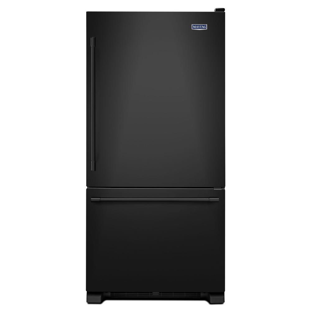 Amana 33 In W 22 1 Cu Ft Bottom Freezer Refrigerator In