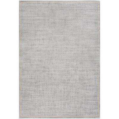 Tranquil Light Gray 8 ft. x 10 ft. Area Rug