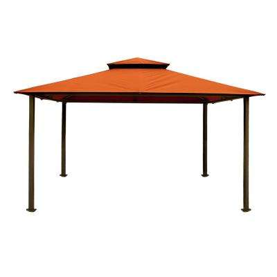 Paragon Gazebo 11 ft. x 14 ft. with Rust Top