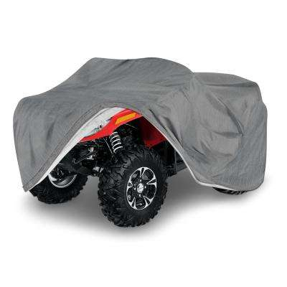 Economy Polypropylene 99 in. x 47 in. x 34 in. XLarge Indoor ATV Cover