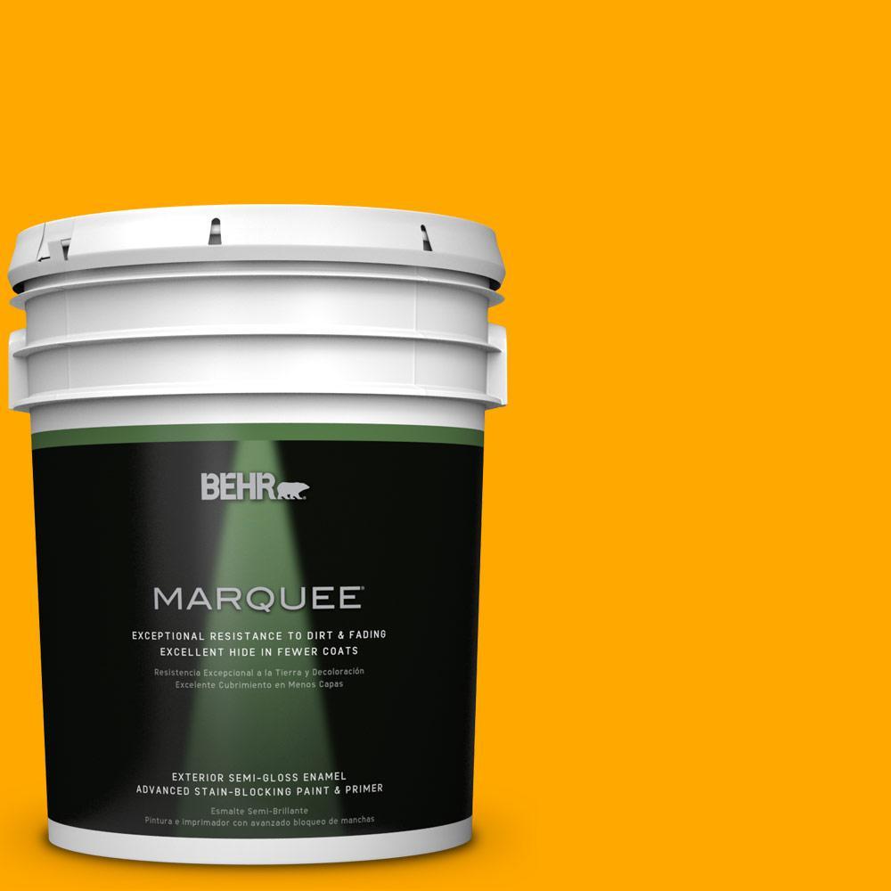 5-gal. #S-G-330 Instant Delight Semi-Gloss Enamel Exterior Paint