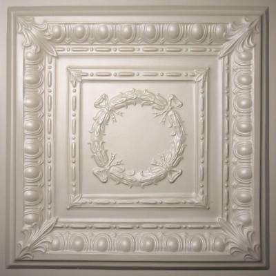 Empire Latte 2 ft. x 2 ft. Lay-in or Glue-up Ceiling Panel (Case of 6)