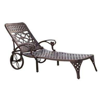 Biscayne Bronze Patio Chaise Lounge