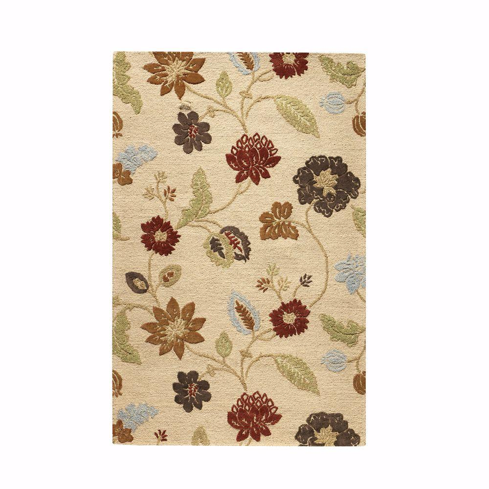 Home decorators collection portico soft gold 8 ft x 11 ft for Home decorators sumba rug