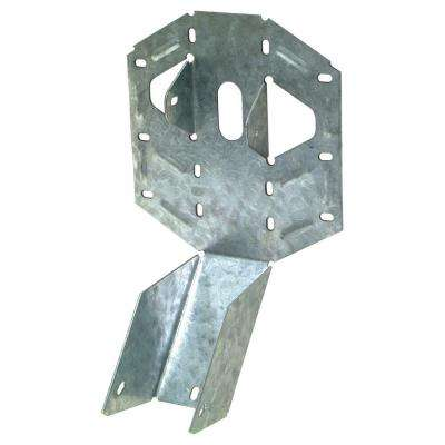 Z-MAX 2 in. x 6 in. 18-Gauge Galvanized Light Adjustable U Joist Hanger