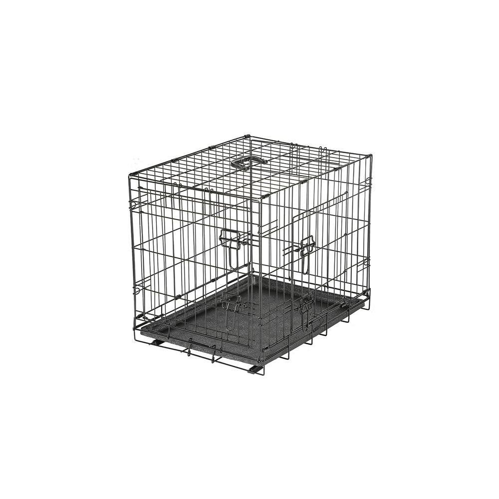 American Kennel Club 24 in. x 20 in. x 18 in. Small Wire Dog Crate ...