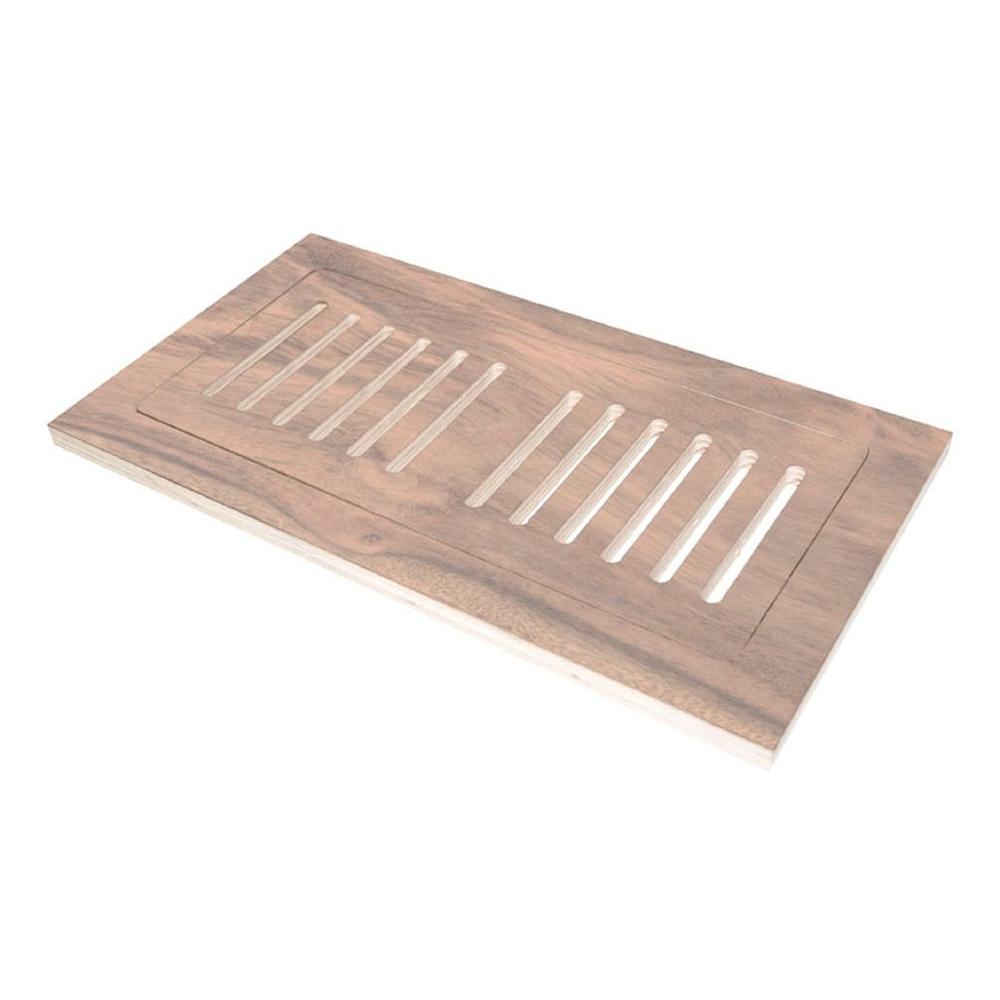Decor Grates 4 In X 12 In Wood Natural Maple Flush Mount