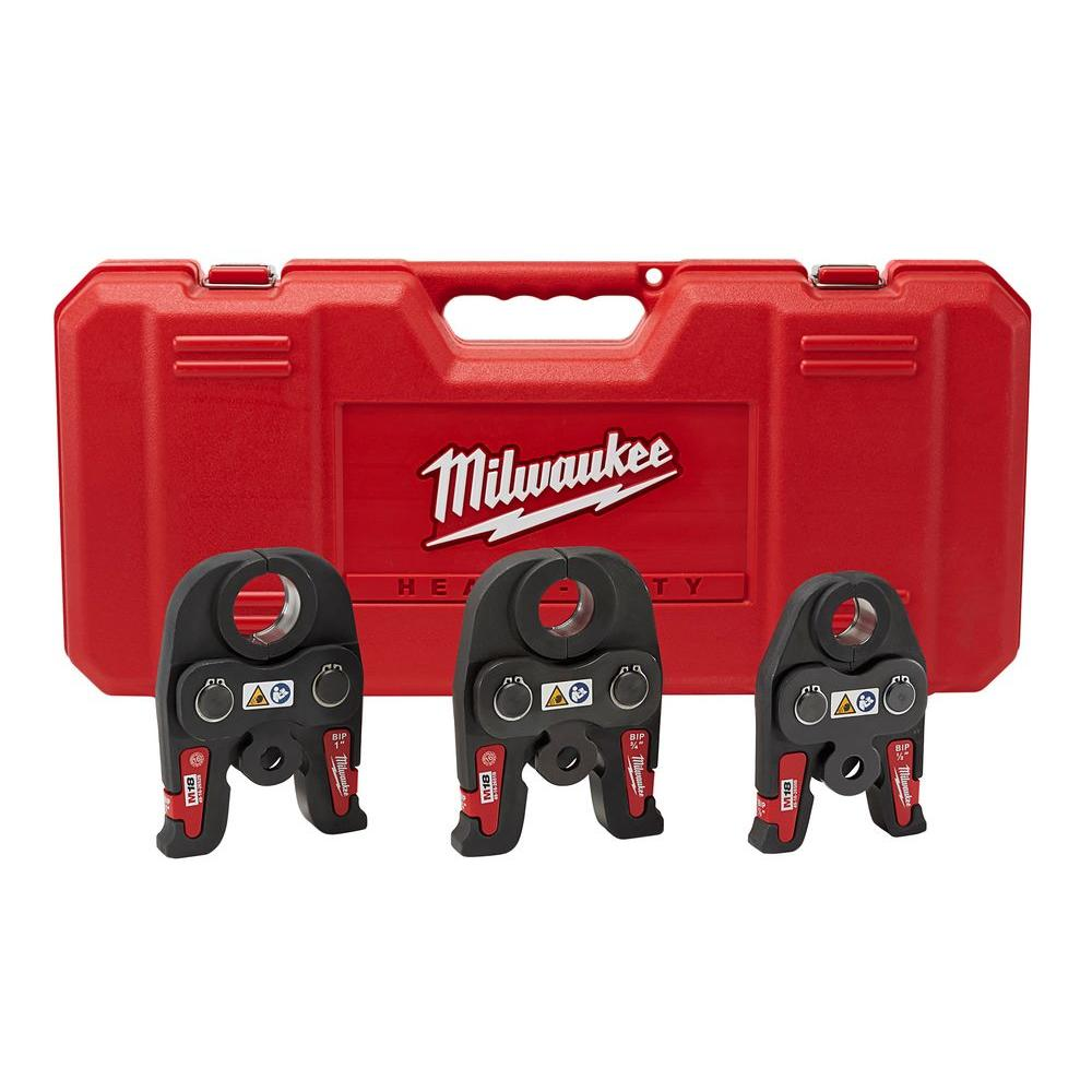 Milwaukee M18 1/2 in. - 1 in. Black Iron Press Tool Jaw