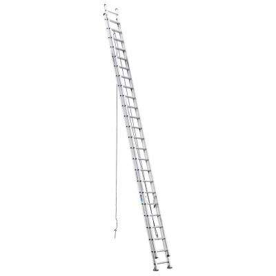 48 ft. Aluminum D-Rung Extension Ladder with 300 lb. Load Capacity Type IA Duty Rating