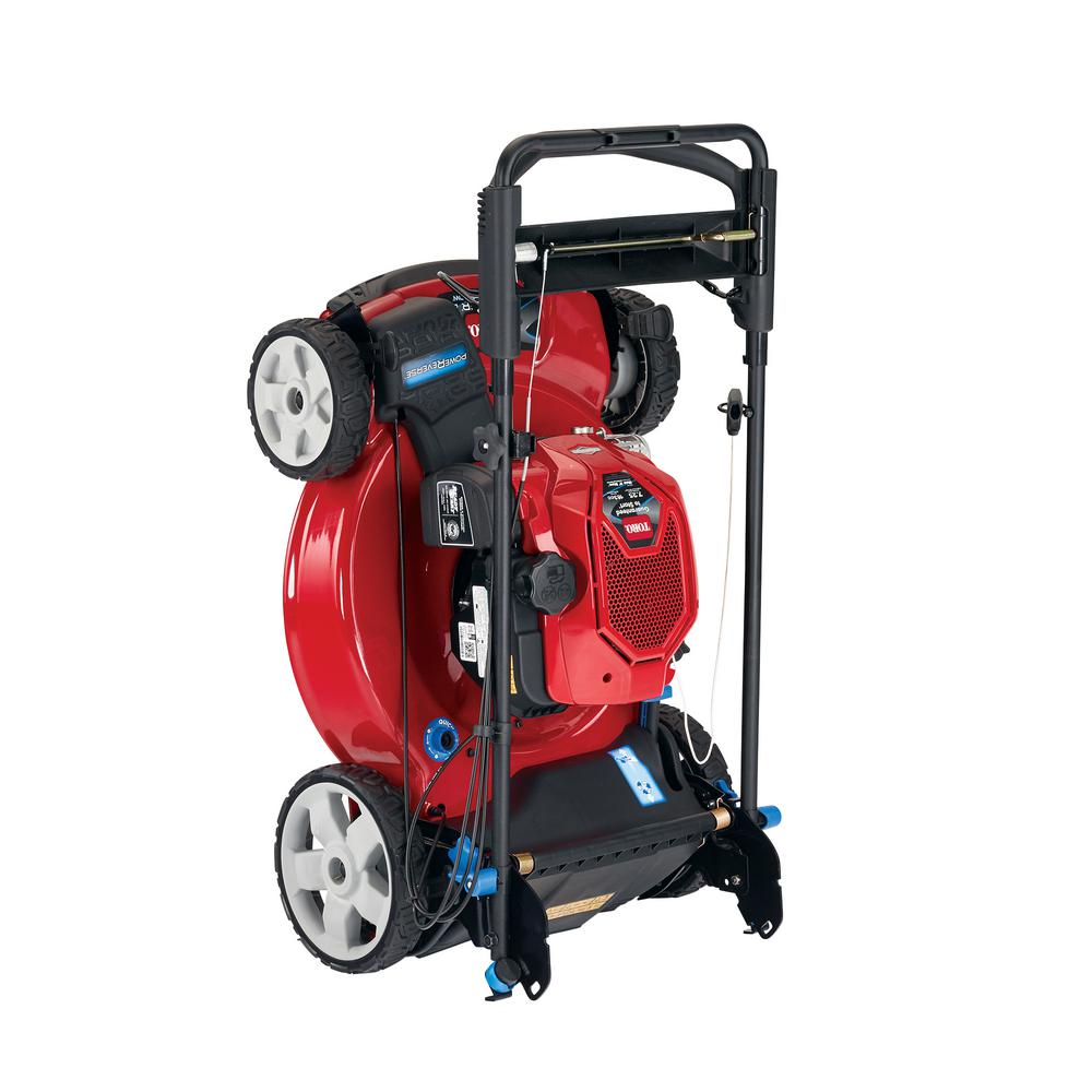 Toro Recycler 22 in. SmartStow Briggs and Stratton PoweReverse Personal Pace Gas Walk Behind Mower