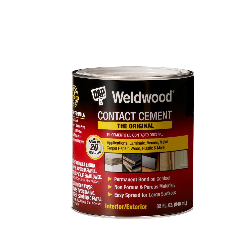 348d82c781 DAP Weldwood 32 fl. oz. Original Contact Cement-00272 - The Home Depot
