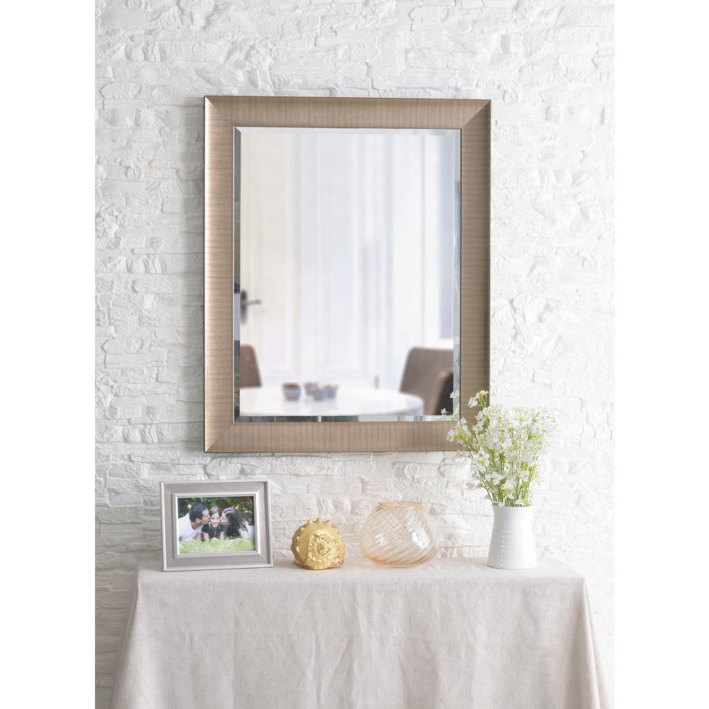 Laredo Square Champagne Dresser Decorative Wall Mirror