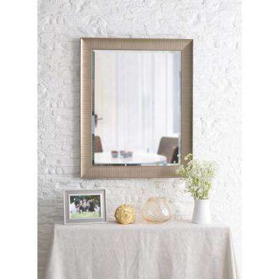 Laredo Square Champagne Dresser Decorative Wall Mirror