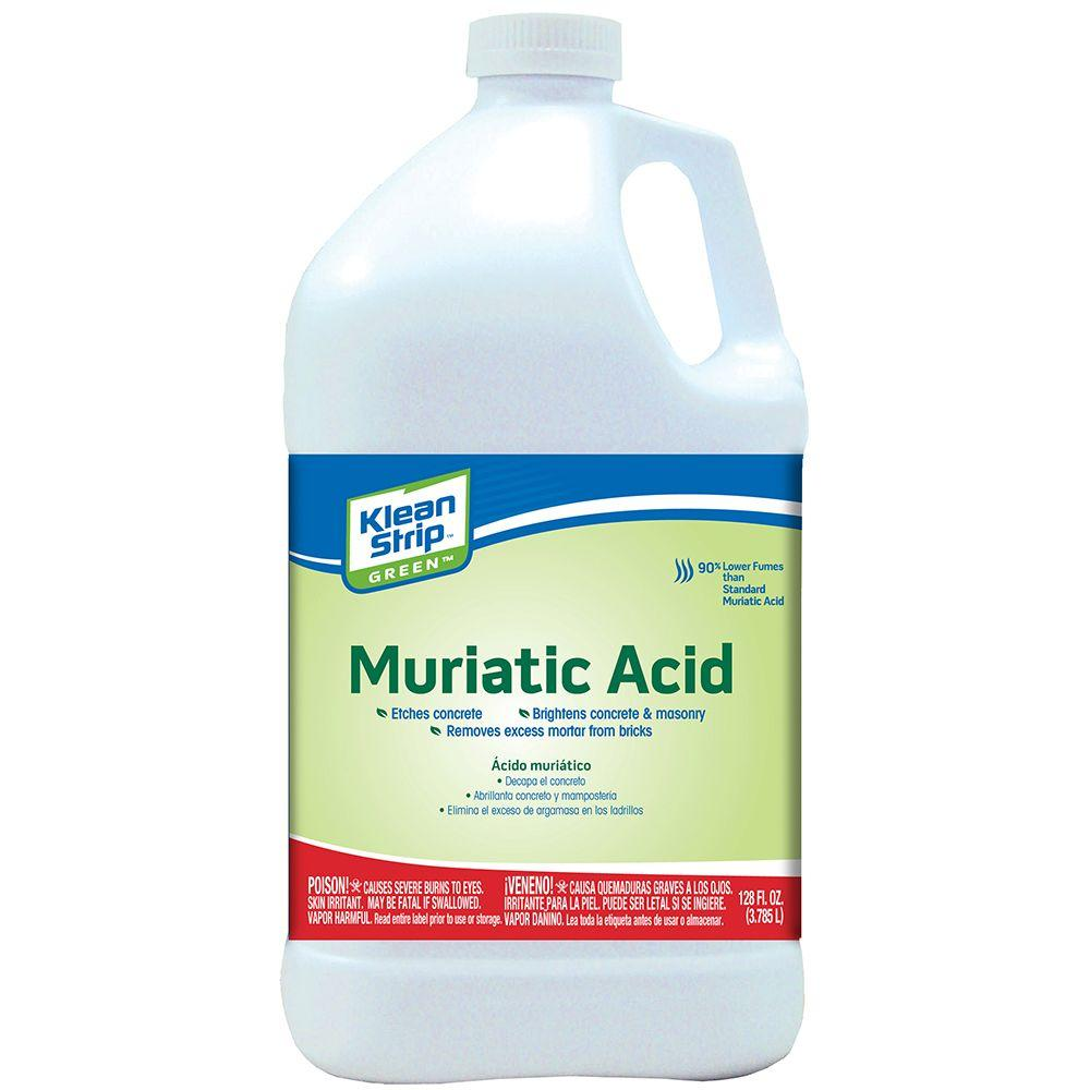 Klean-Strip 1 gal  Green Muriatic Acid