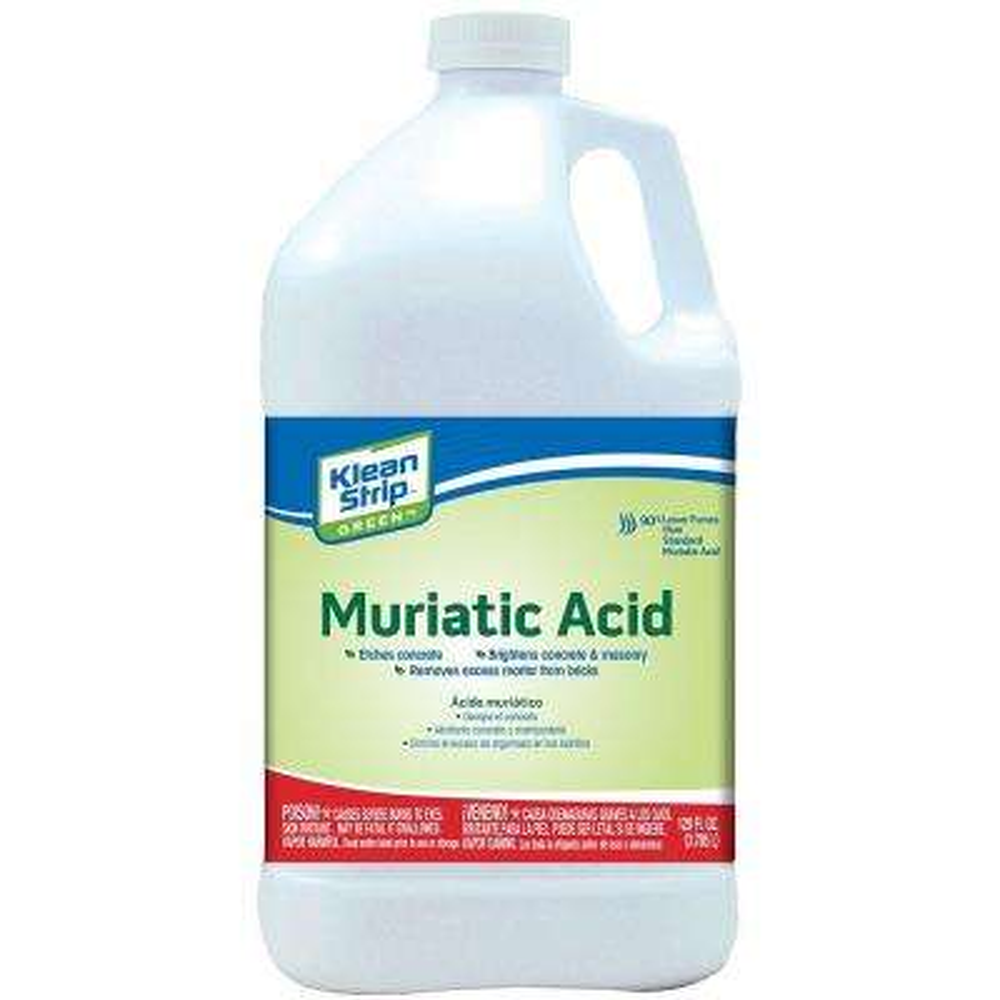 1 gal  Green Muriatic Acid