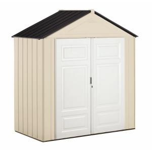 Rubbermaid Big Max Junior 3 Ft. 8 In. X 7 Ft. 3 In. Storage Shed 1862549    The Home Depot