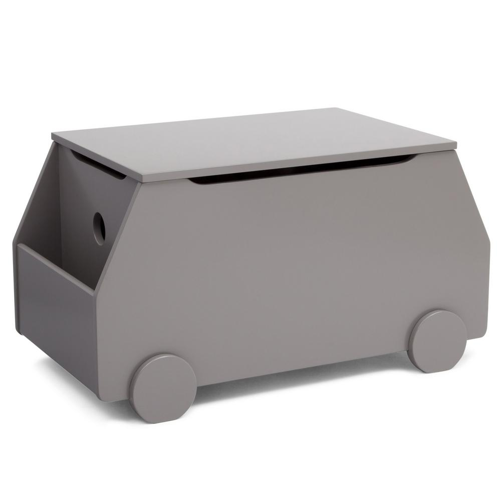 Metro Clic Grey Toy Box