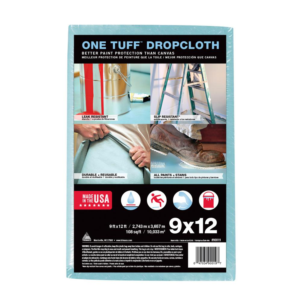 9 ft. x 12 ft. Professional Grade Drop Cloth