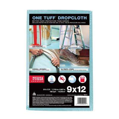 One Tuff 9 ft. x 12 ft. Professional Grade Drop Cloth