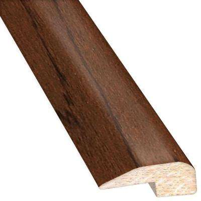 Hickory Truffle 0.88 in. Thick x 2 in. Wide x 78 in. Length Hardwood Carpet Reducer/Baby T-Molding