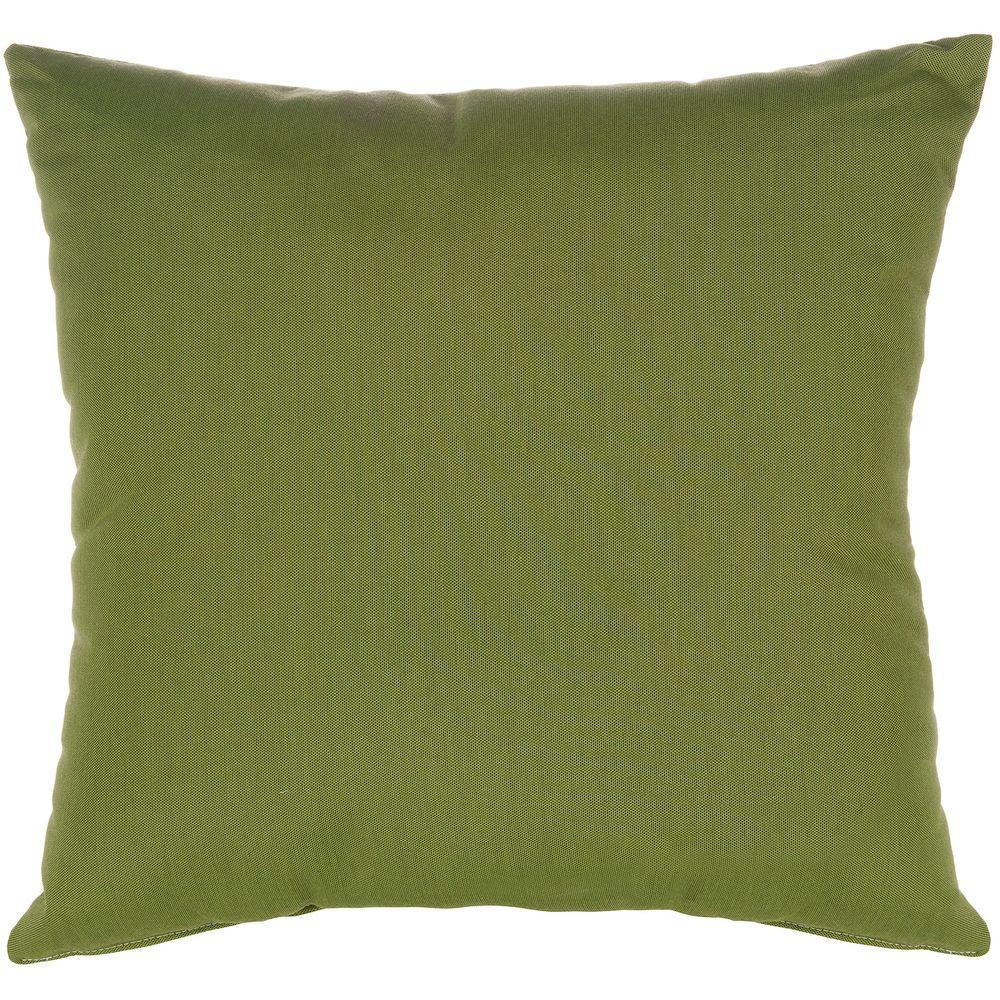 Pawleys Island 18 in. x 18 in. Canvas Turf Outdoor Pillow