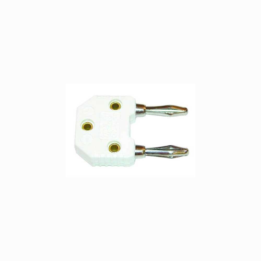 AEMC Male Banana to Mini Female with K Thermocouple Adapter