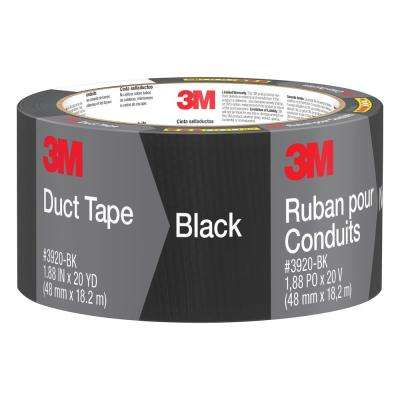 1.88 in. x 20 yds. Black Duct Tape