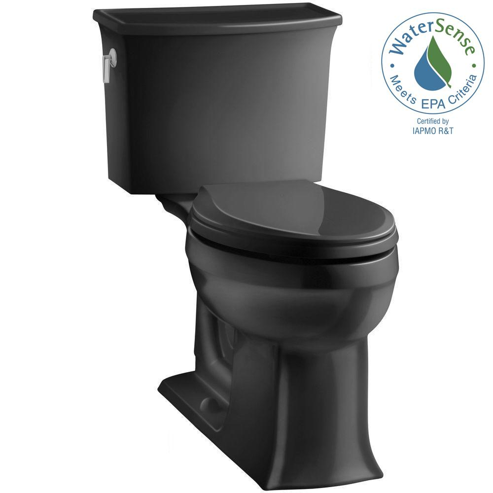 Archer Comfort Height 2-piece 1.28 GPF Single Flush Elongated Toilet with