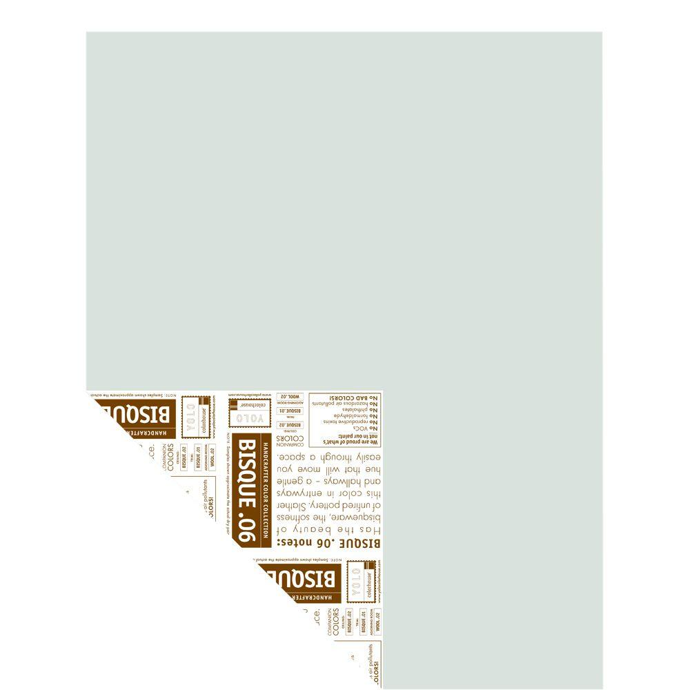 YOLO Colorhouse 12 in. x 16 in. Bisque .06 Pre-Painted Big Chip Sample