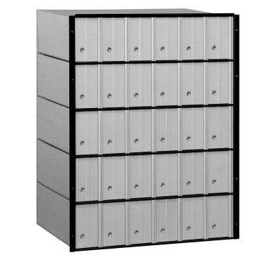 2200 Series Standard System Aluminum Mailbox with 30 Doors