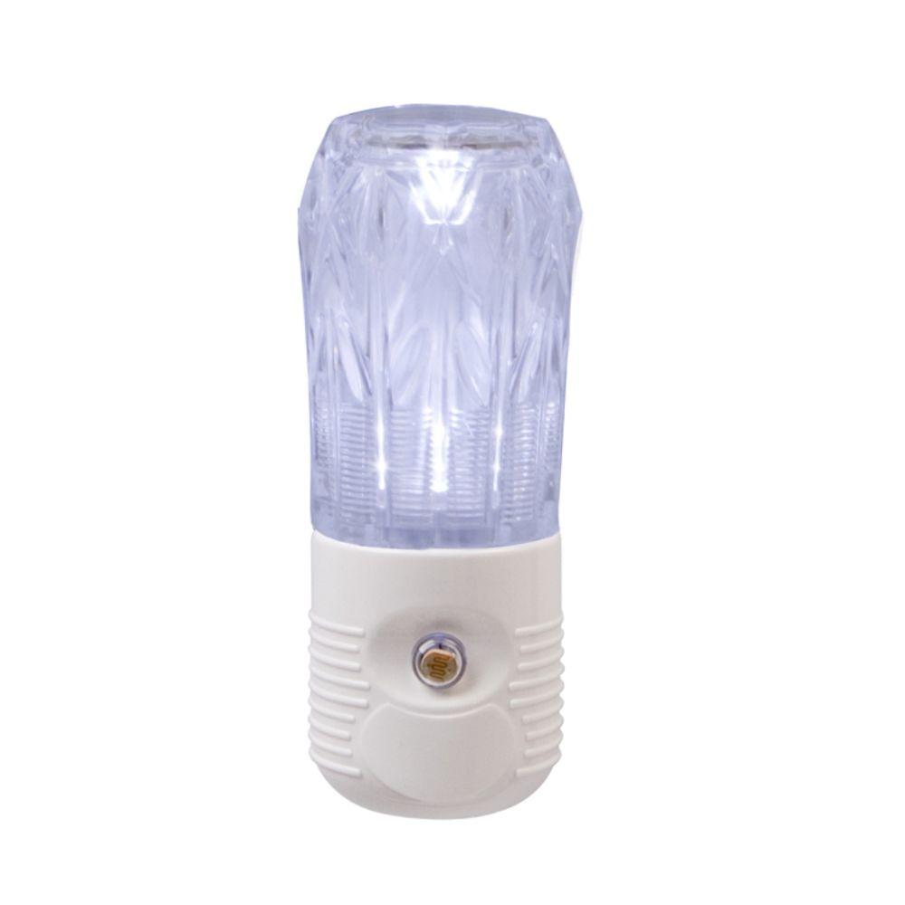 Amerelle Cylinder LED Night Light - White