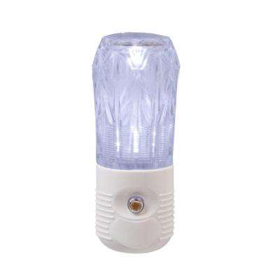 Cylinder LED Night Light - White