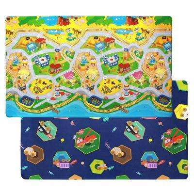 My Town 4 ft. 6 in. x 7 ft. 6 in. Play Mat