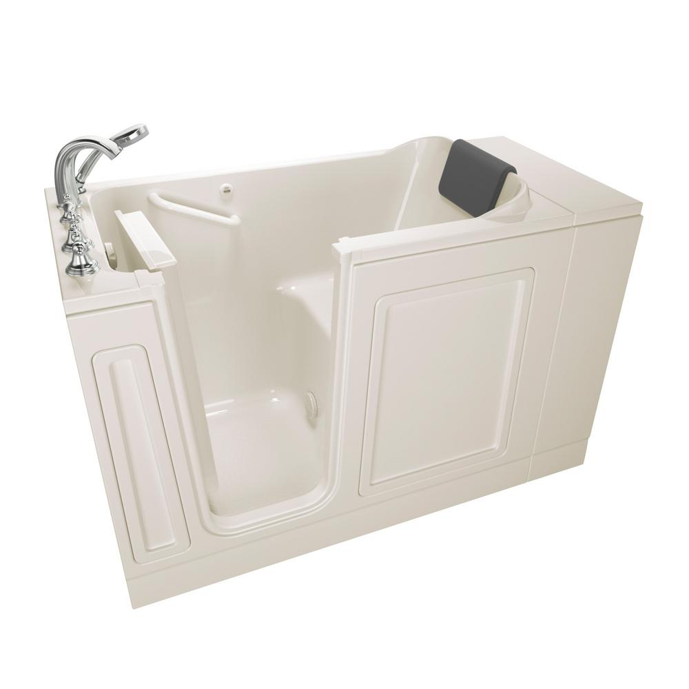 American standard acrylic luxury series 48 in left hand for Acrylic soaker tub