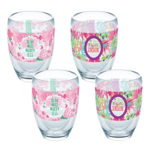 Click here to buy Tervis Simply Southern Relax More And Sunshine 9 oz. Double-Walled Tritan Stemless Wine Glass (4-Pack) by Tervis.