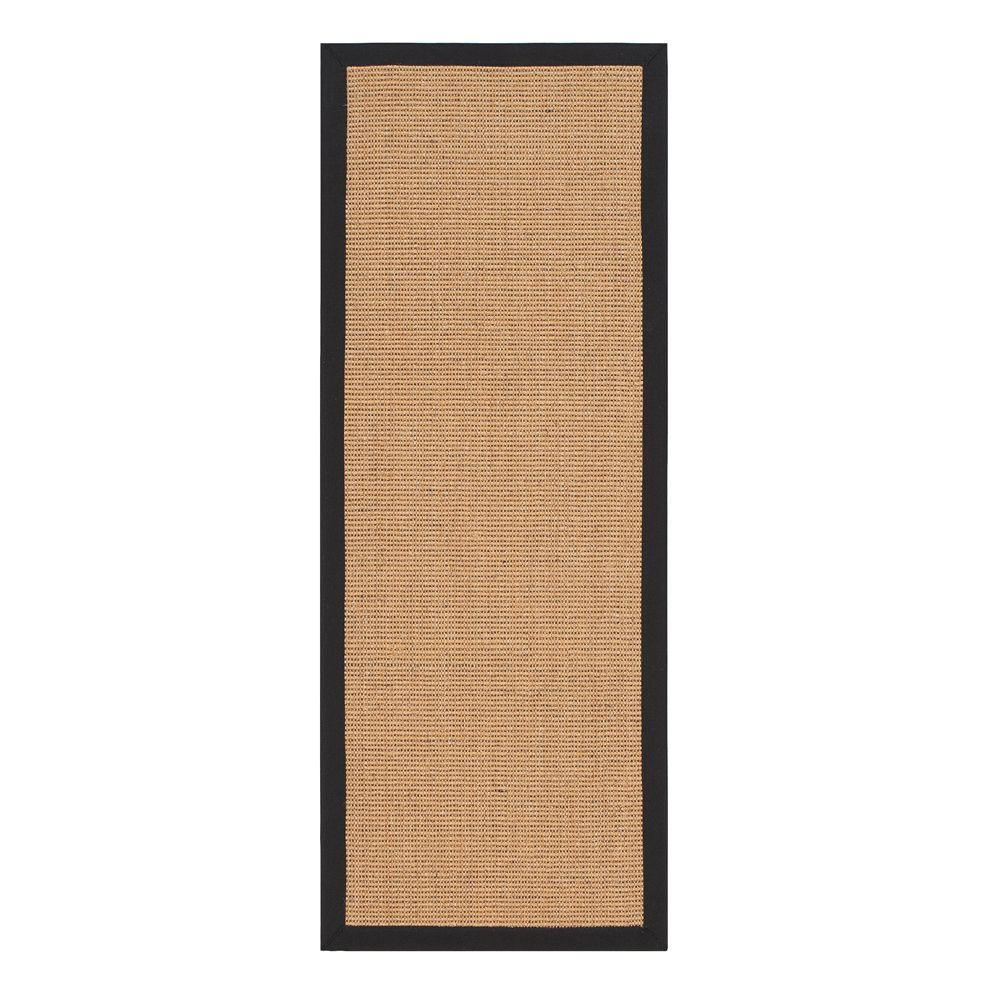 Home Decorators Collection Rio Amber and Black 2 ft. 3 in. x 6 ft. Rug Runner