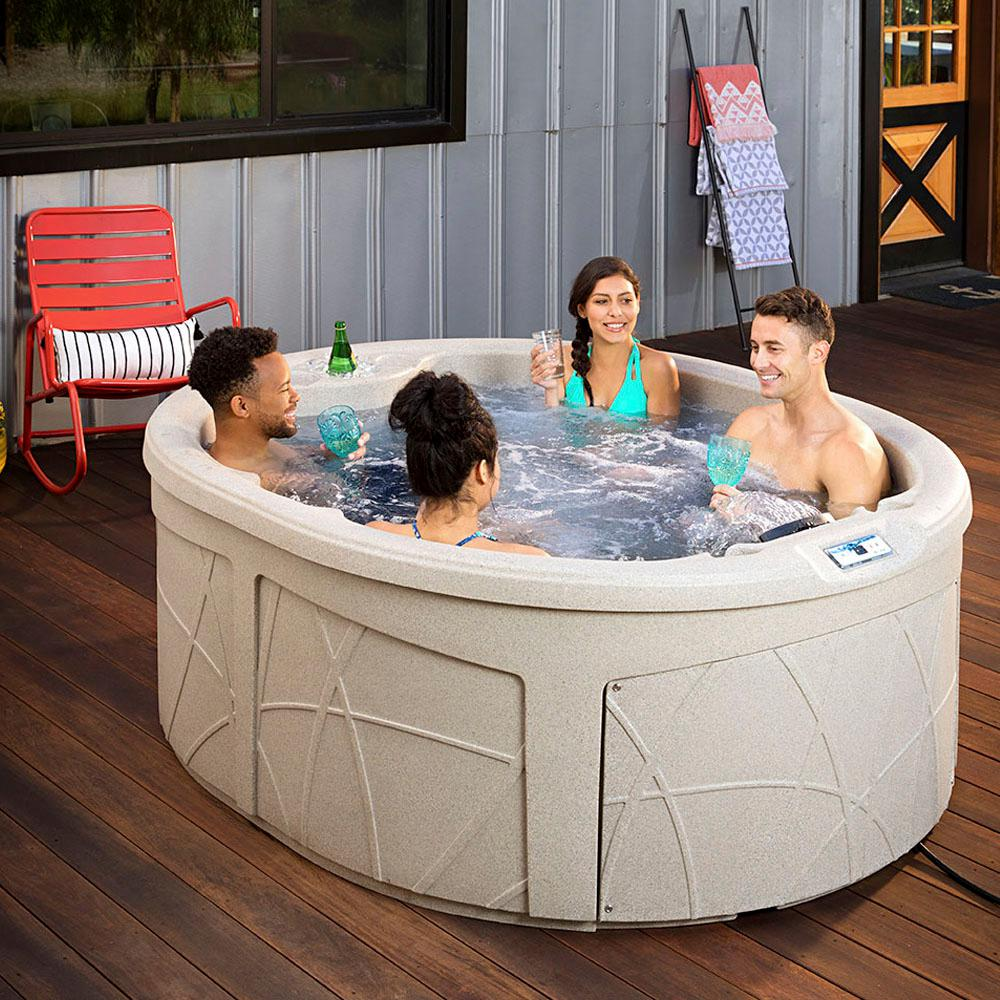 Oval - Hot Tubs - Hot Tubs & Home Saunas - The Home Depot