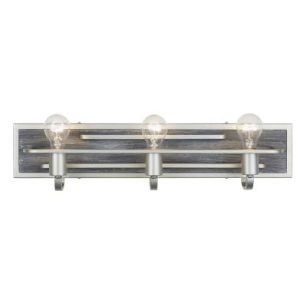 Lofty 3-Light Silverado Bath Light