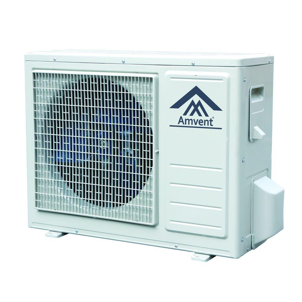 Amvent 12,000 BTU Mini Split Air Conditioner Inverter Type Outdoor ...