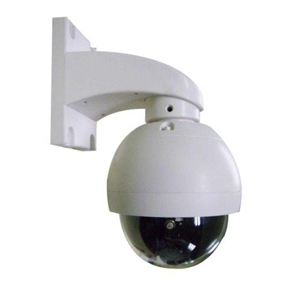 SeqCam Wired Mini Speed Dome Indoor/Outdoor Security Camera ...