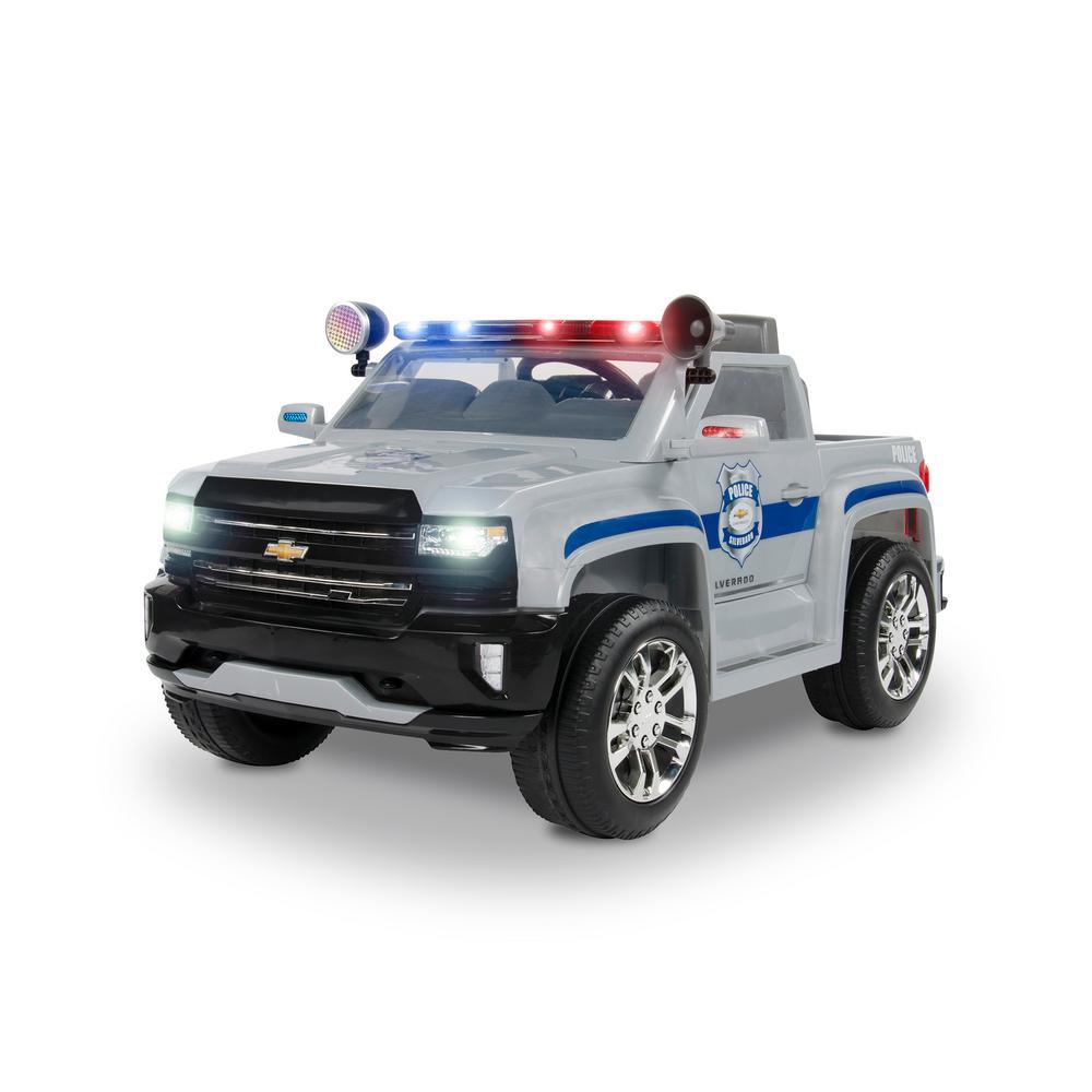 Rollplay 6-Volt Chevy Silverado Police