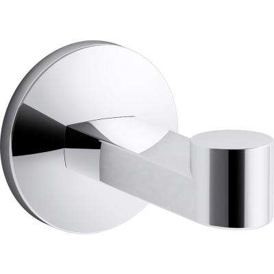 Components Robe Hook in Polished Chrome