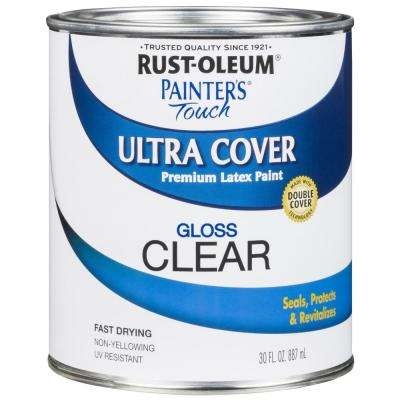 30 oz. Ultra Cover Gloss Clear General Purpose Paint (Case of 2)