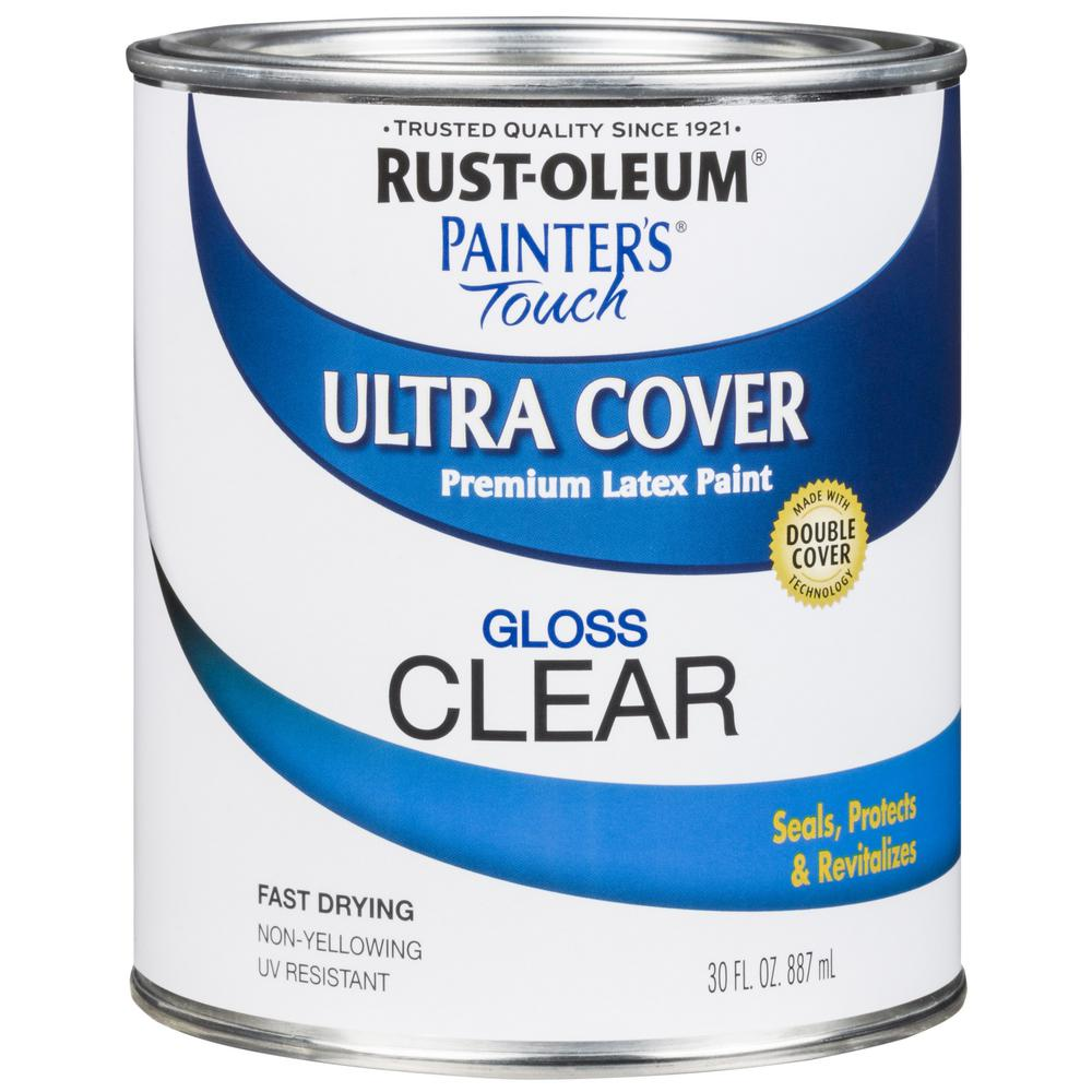 30 oz. Ultra Cover Gloss Clear General Purpose Paint (Case of