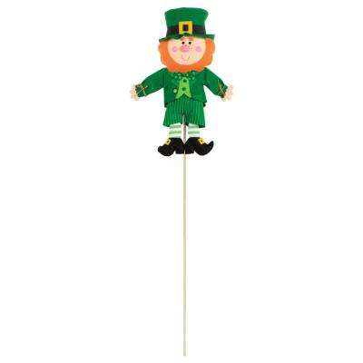 Leprechaun 46 in. St. Patrick's Day Yard Stake (2-Pack)