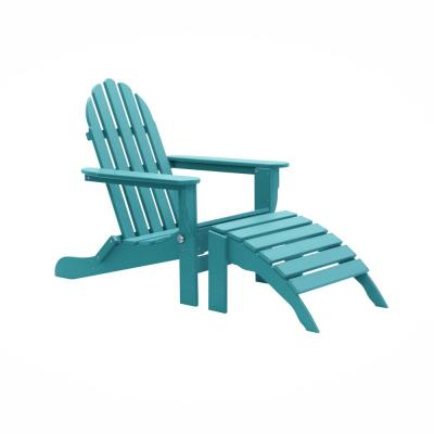 Icon Aruba 2-Piece Folding Recycled Plastic Adirondack Chair